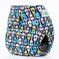 AnAnBaby Reusable Bamboo Charcoal Cloth Diaper Eco-Friendly Washable Nappy Square Tab With Double Gussets Color Snaps For 3-15kg