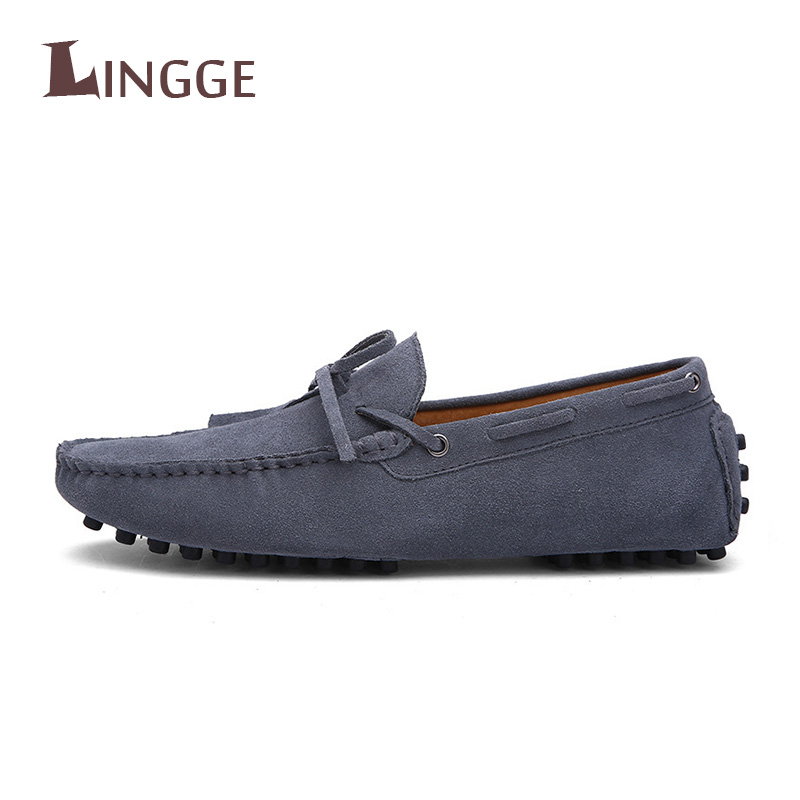 High Quality Genuine Leather Men Loafers Fashion Slip-on Driving Shoes Men Flat Shoes Causal Men Shoes
