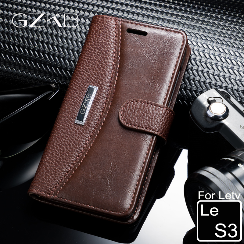 994059b40 For Letv LeEco Le S3 X622 Case Cover GZKB High Quality Luxury Leather Flip  Wallet Case For Le S3 X626 X620 Phone Bags Cover