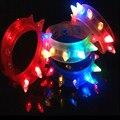 120 шт./лот светодиодные браслет мигающий игрушки Световой handband игрушки Заклепки Браслет игрушки