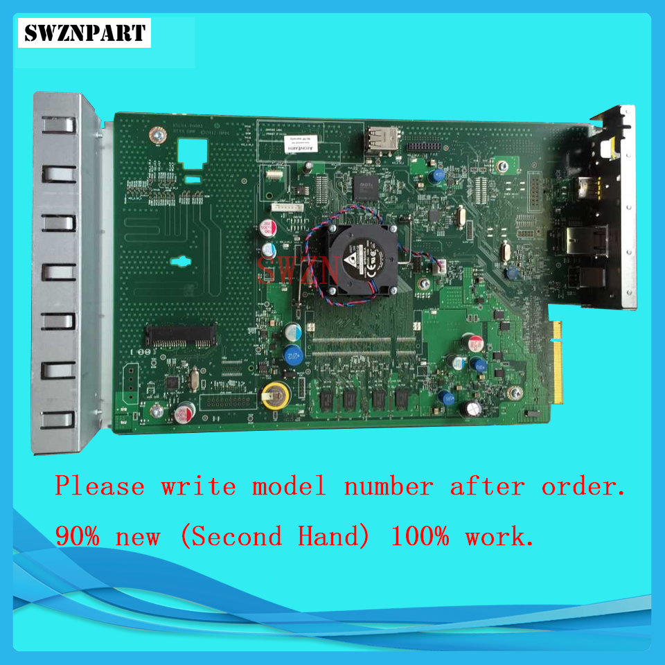FORMATTER PCA ASSY Formatter Board logic Main Board MainBoard For HP Officejet Pro X585 X585DW X585DN B5L04-67908 formatter pca assy formatter board logic main board mainboard mother board for hp m775 m775dn m775f m775z m775z ce396 60001