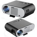 GP90 Multimedia HD 1080 P Home Cinema Proyector LED Digital HDMI Videojuego LCD 3D Proyector Beamer LED Lámpara de larga vida span