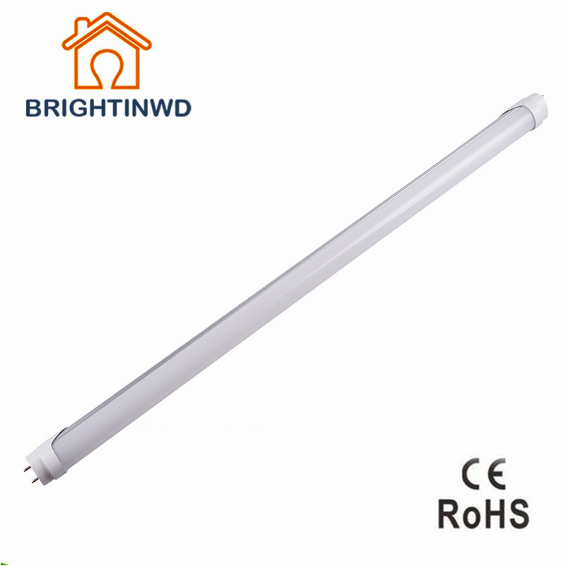 2016 NEW LED T8 Tube 9w 10w 600mm 2ft 220v 110v-240v milky cover Warm Cold White SMD2835 led fluorescent lamp neon