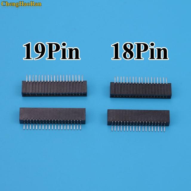 2 個 18Pin 19Pin キーフィルムソニー PS2 フレックスリボンフレックスケーブル接続ポート導電性フィルムソケットコネクタ