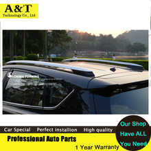 Car styling New Aluminiumlegierung Dachgepäckträger silber farbe lackiert OEM Für Neue 2013 2014 Toyota RAV4 RAV 4 Legierung gepäck rack