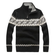 Colors luxury brand designer men winter fashion brand striped patchwork thick warm pullovers casual male famous sweaters S-2XL