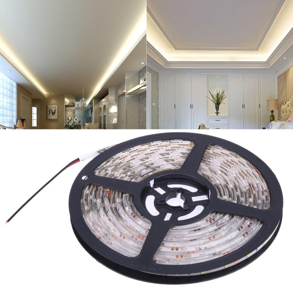 DC12V 3528 SMD 5M/lot LED Strip Light IP65 Waterproof Led Tape flexible Strip Light 60Leds/m Tira Home Decor Lamp Car Lamp