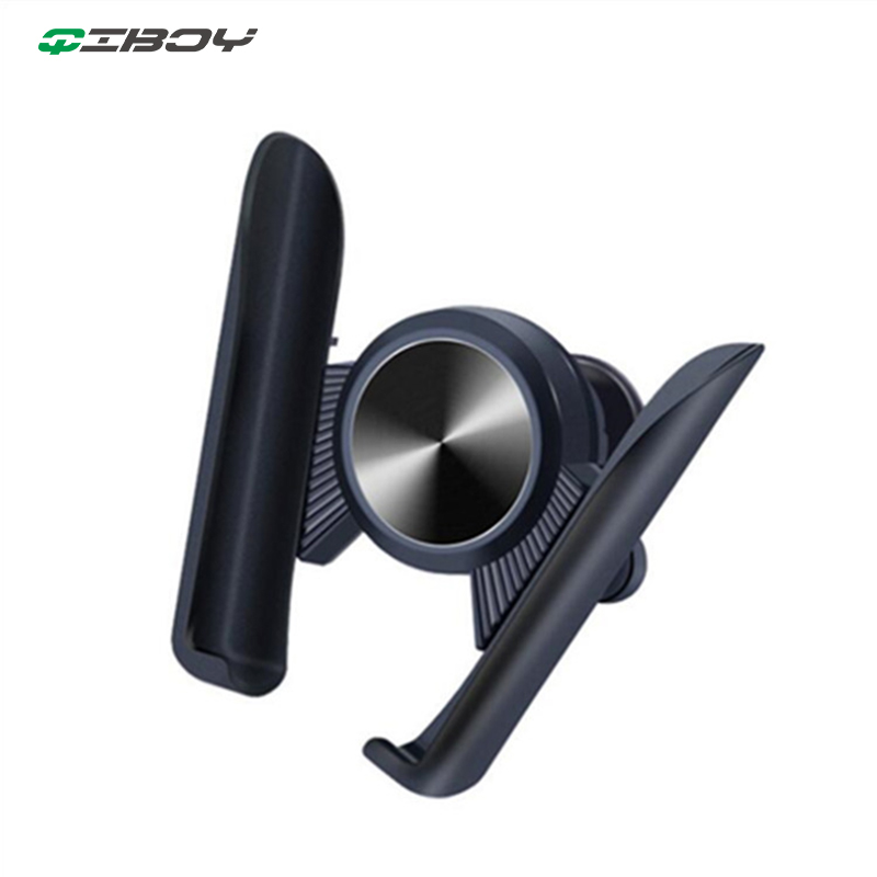 Gravity Car Holder For Phone In Car Air Vent Clip Mount Mobile Cellphone Holder Auto Grip No Magnetic Stand Support For IPhone X