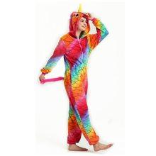 Wholesale Dinosaur Unicorn Pikachu Unisex Flannel Hoodie Pajamas Costume  Cosplay Animal Onesies Sleepwear Men Women Christmas 050927987