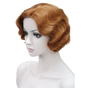 Image 4 - StrongBeauty 1920s Flapper Hairstyles for Women Finger Wave Wigs Retro Style Short Synthetic Wig