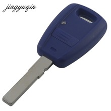 jingyuqin Blue Remote Key Fob Shell for Fiat Punto Doblo Bravo Replacement Housing Case without logo