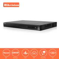 Hikvision CCTV System Onvif DS 7608NI E2 8 Channel Embedded Plug Play Network Video Recorder HDMI