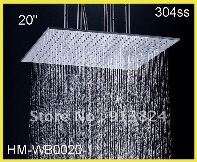 20 inches outdoor stainless steel shower big shower head-in ...
