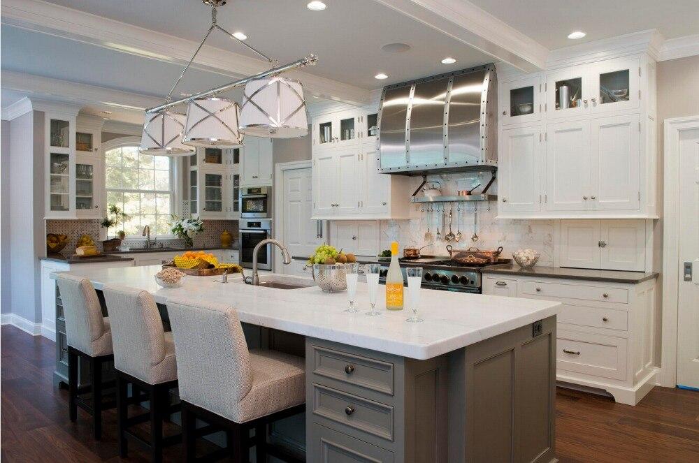 gabinetes de cocina de madera maciza ventas calientes precio barato a medida muebles de