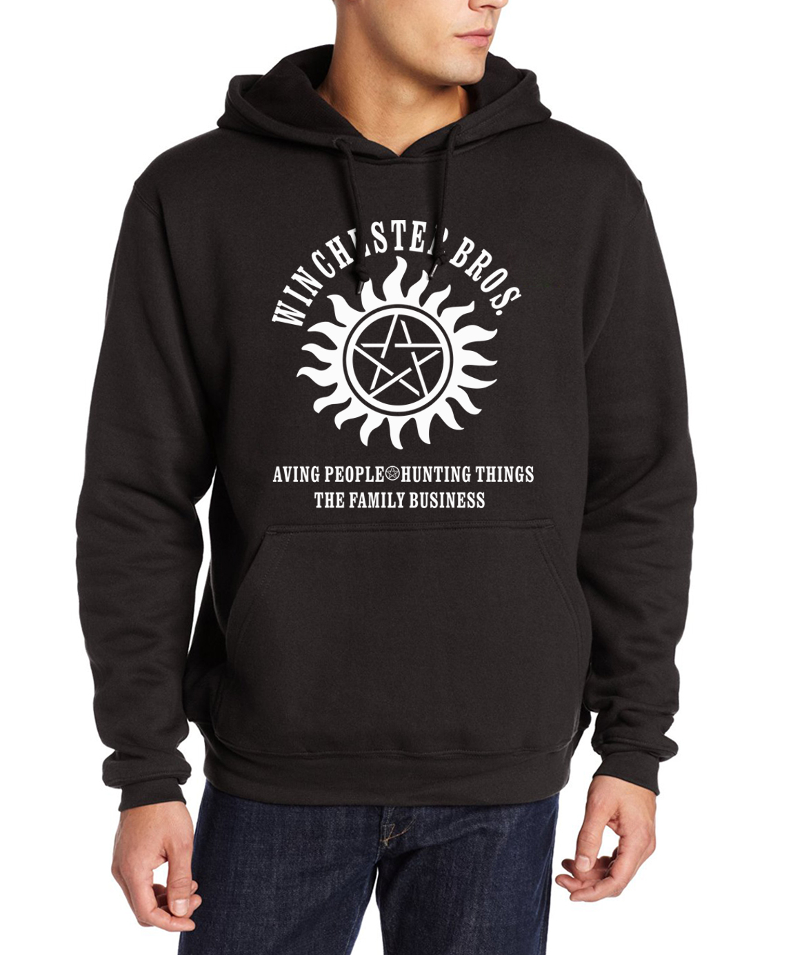 Supernatural Winchester Bros Mens Hoodie BestSeries SHOP
