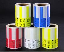 500 PCS/ROLL network cable label sticker, durable waterproof and oilproof, Item No. HT03