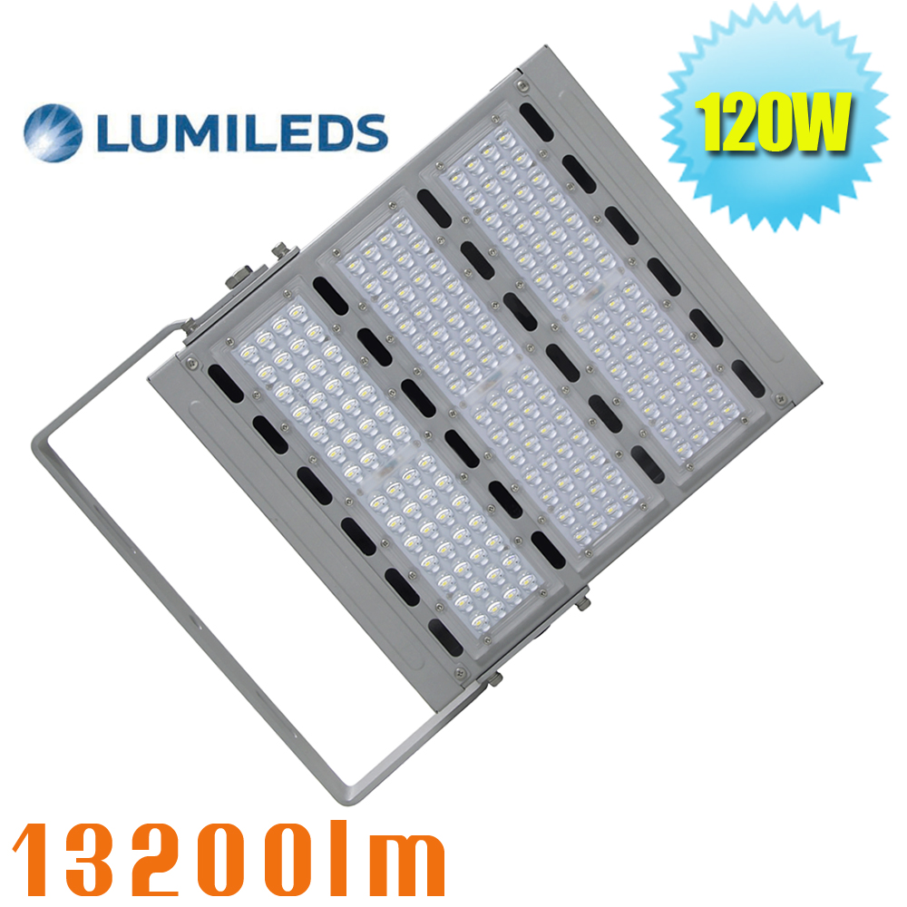 120W LED Flood Lights Outdoor Security Floodlight Wall