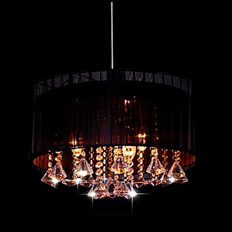 Sencillo salón de moda sala de estudio luz lustre led araña oval - Iluminación interior - foto 5