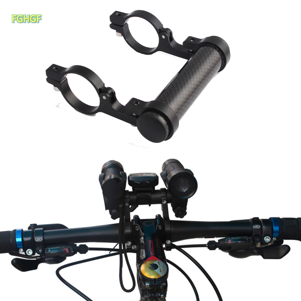 Lenker Verlängerung Fahrrad Bike Licht Taschenlampe LED Lampe Halterung Extender