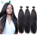 Italian Yaki Peruvian Virgin Hair Straight 3 Pcs/Lot  Italian Yaki 6A Pervian Virgin Hair Human Hair Weave Bundles