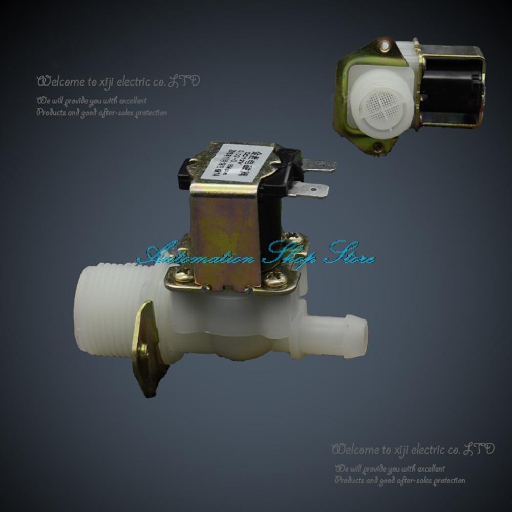 Heimwerker RüCksichtsvoll Kunststoff Magnetventil 3/4-12mm Magnet Wasser Ventil 12vdc 24vdc Waschmaschine Einlass Wasser Ventil