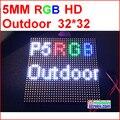 P5 vídeo ao ar livre HD led módulo, SMD 2828 IP65, alto brilho de 5000 nits, 1/8 de digitalização, 32*32 P, SMD P5 cor cheia ao ar livre CONDUZIU o Painel