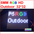 p5 outdoor  HD video led module, SMD 2828 IP65,high brightness 5000 nits, 1/8 scan,32*32 P, full color outdoor SMD P5 LED Panel