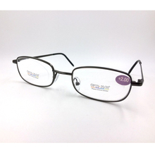 High Quality Metal Reading Glasses For Men Full frame Reader 3 Colors Available