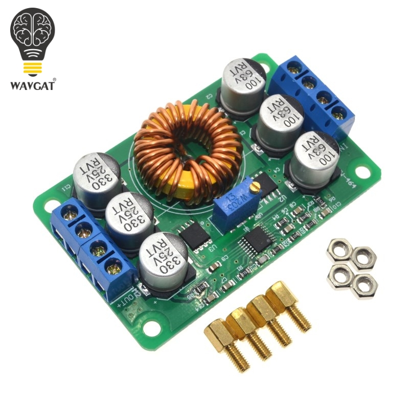 LIZAO 3D Printer Parts Prusa i4 Voltage Convertor Ultra-high-efficiency DC-DC step down module IN 16-40V OUT 1.0-12V / 6ALIZAO 3D Printer Parts Prusa i4 Voltage Convertor Ultra-high-efficiency DC-DC step down module IN 16-40V OUT 1.0-12V / 6A