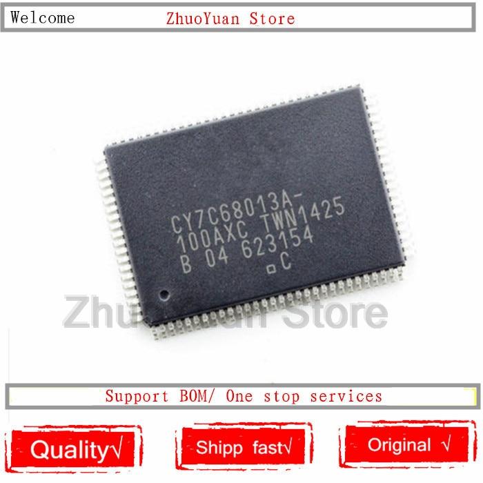 1PCS/lot CY7C68013A-100AXC QFP-100 CY7C68013A IC Chip New Original In Stock
