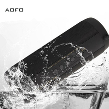 AOFO Wireless IP67 Waterproof Hands-free Louder Speaker with Mic, Portable HIFI Bluetooth TF Card FM