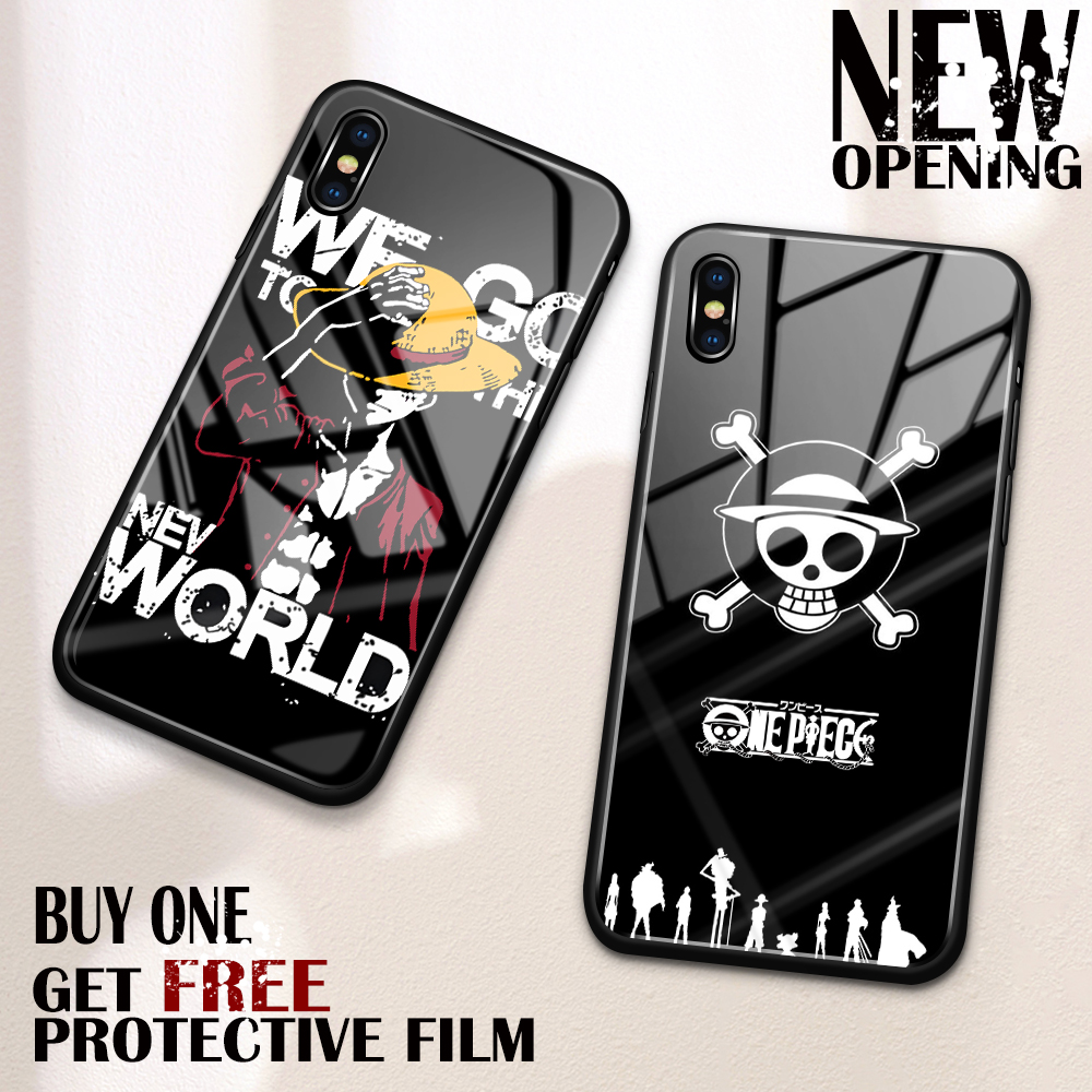 iphone xs case luffy