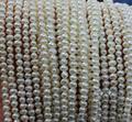 Оптовая продажа жемчуг ювелирные изделия 3.5 - 4 мм + + в круглых белый 53-дюймовый искусственный подлинная свободных бусины Diy ювелирные изделия материал предложение