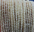 Wholesale Pearl Jewelry 3.5-4MM A+  Near Round White Cultured Genuine Freshwater Pearl Loose Beads Diy Jewelry Material Offer