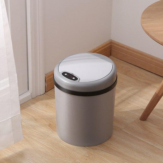 Induktion Abfall Bins Smart Mülleimer küche papierkorb bad mülleimer Kunststoff Open Top Müll Box