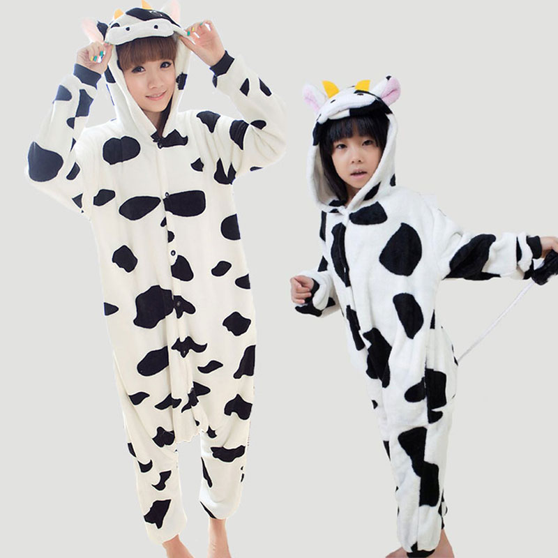 Couples Pijamas Mujer Feminino Monther Daughter Family Pajama Set Kawaii Animal Onesie For Adults Women TC006