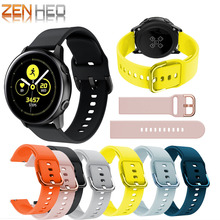 silicone Outdoor sport watch band For Galaxy active smart strap Samsung 42mm Replacement Bracelet
