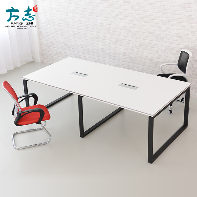 office furniture simple plate of large and small conference table negotiating bar staff training tables chairs - Small Conference Table
