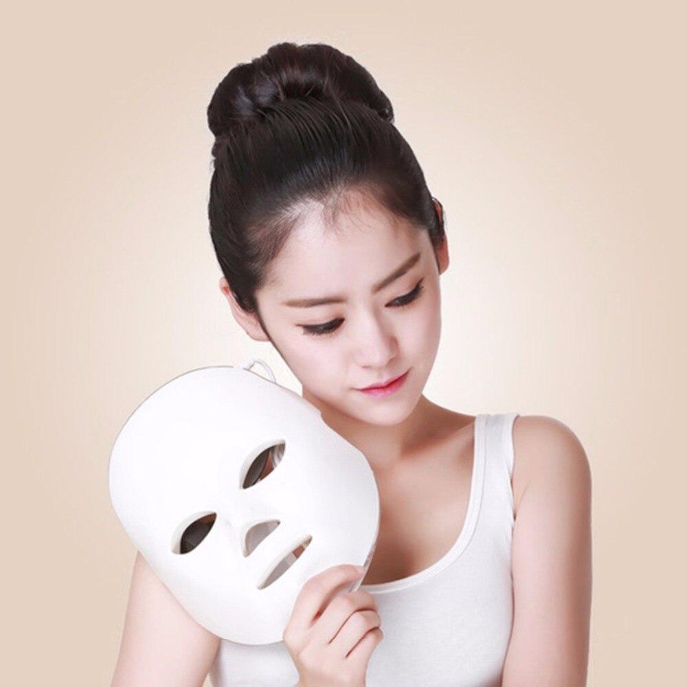 цена на NEW Facial Massage Beauty Mask 7 Color LED Photon Facial Mask Wrinkle Acne Removal Rejuvenation Wrinkle Removal Anti-Aging
