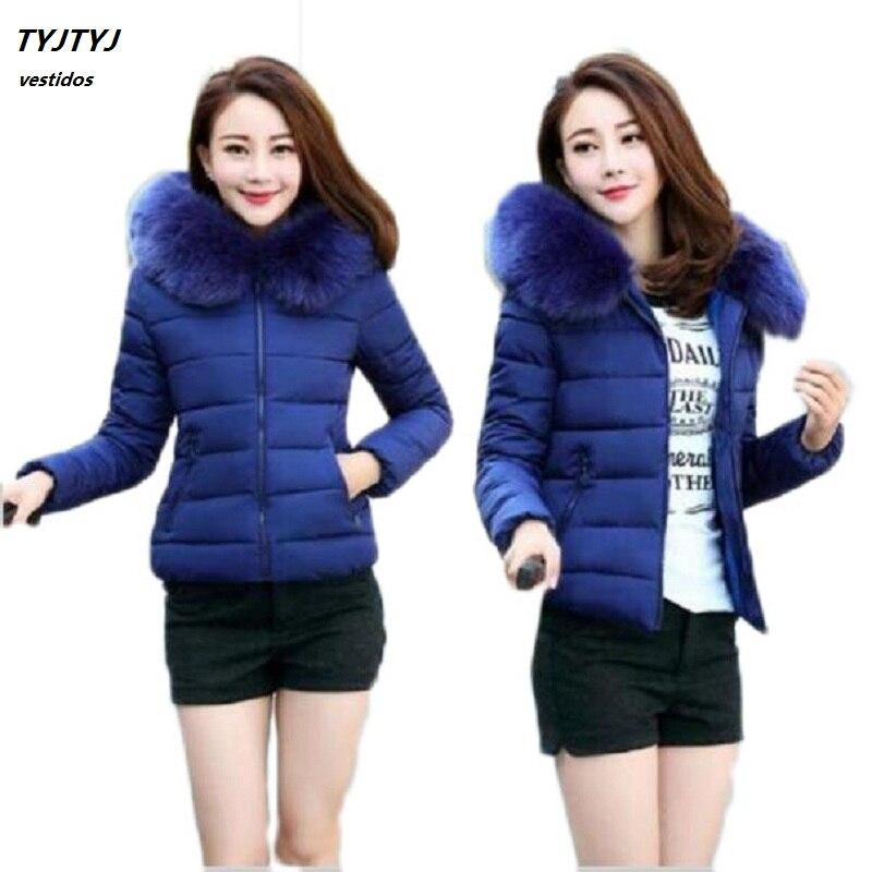 New coat female 2017 women s coat collar down jacket winter cloak short sleeve hooded loose
