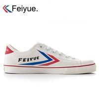 2019 Feiyue Skateboarding Shoes Classic Sports Sneakers Men Taichi Taekwondo Kungfu Canvas Shoes Trainning Walking Sneakers