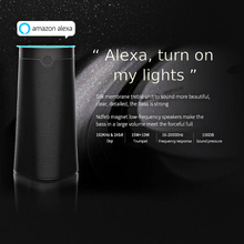 [Genuine]Smart Speaker Bluetooth Wireless Voice Wifi Controlled,Alexa AI Echo with Improved Sound,for Smart Google Home HF30