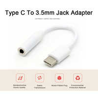 Universal Type C To 3.5mm Headphone Jack Adapter For Android Mobile Mini Type-C AUX Converter Smartphone Headphone Splitter