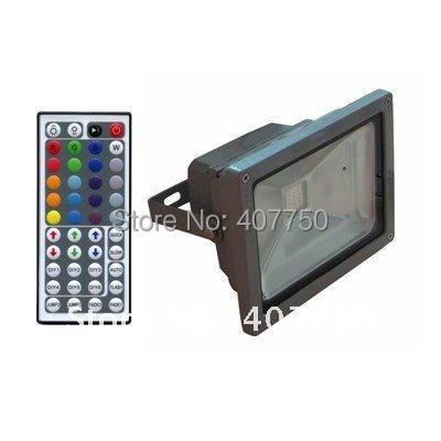 elegant design IR remote rgb led flood light 20w COB imported chips used for mines and undersea tunnels|led flood light 20w|rgb led flood light|led flood light - title=