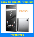 "Sony Xperia Z5 Premium E6853 Оригинальный Разблокирована GSM 4 Г LTE Android Окта Core ОПЕРАТИВНАЯ ПАМЯТЬ 3 ГБ ROM 32 ГБ E6853 5.5 ""IPS 23MP WI-FI GPS"