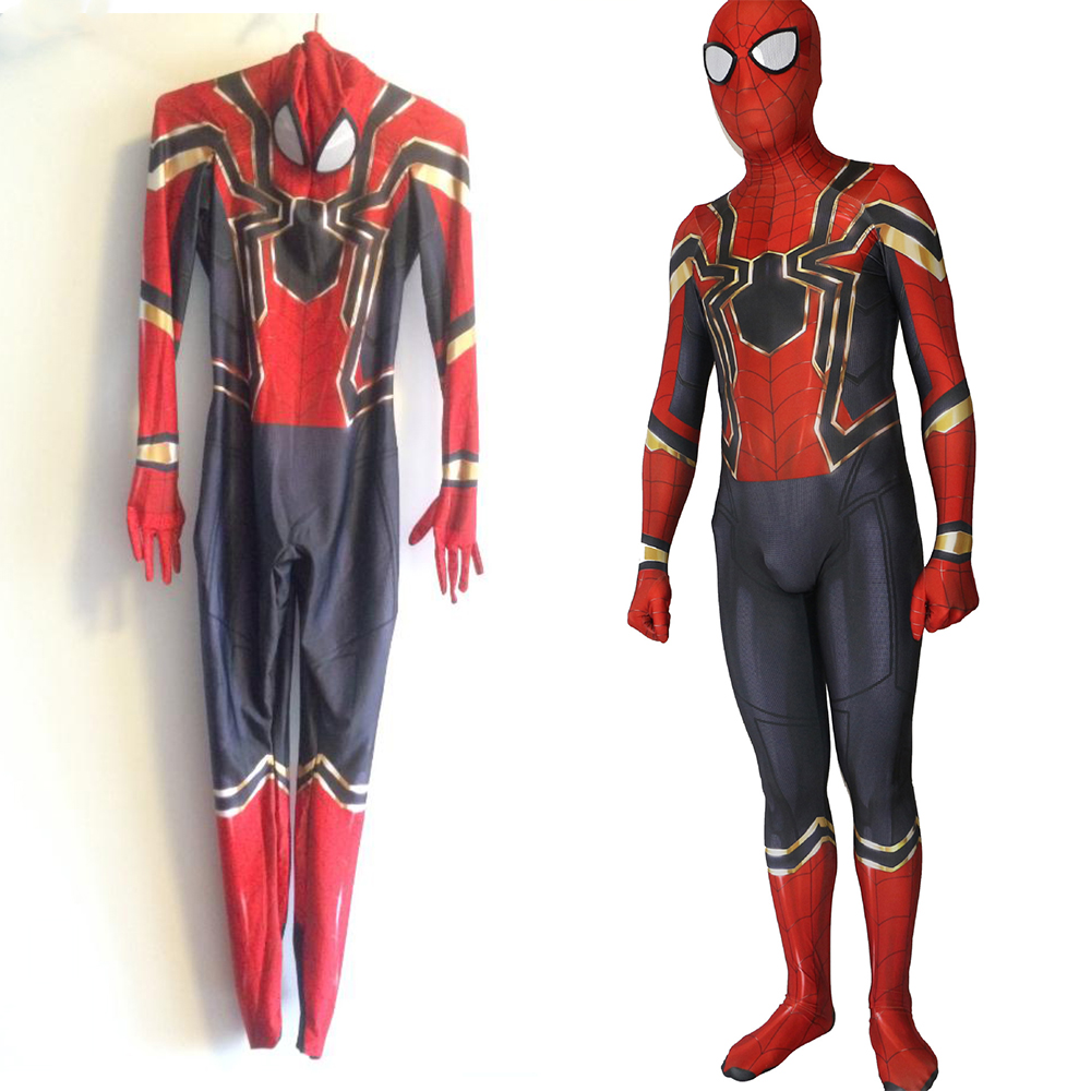 2017 Spiderman Homecoming Costume Iron Spider Man Suit Cosplay costumes