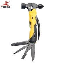 Mini Multifunctional Knife Stainless Steel Tool multi Pocket Tool Hand Tools 7 In 1