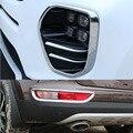 Хромированный АБС-пластик  передняя/задняя противотуманная фара  защитная накладка для Kia Sportage KX5 2016 2017