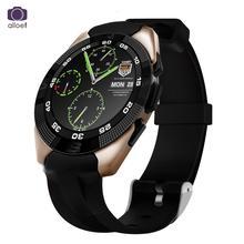 2016ใหม่ฉบับที่1 g5 smart watch mtk2502 s mart w atchอัตราการเต้นหัวใจการตรวจสอบติดตามการออกกำลังกายโทรsmsเตือนกล้องสำหรับa ndroid ios