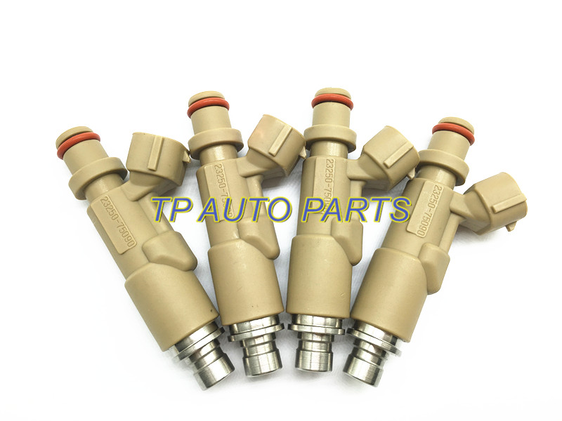 4 шт. Топливные форсунки для TOYOTA L-и C-ruiser RZJ95 RZJ12 Hi-lux C-oaster OEM 23250-75090 23209-79145